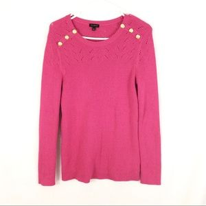 Talbots Women's Pink Sweater Size Medium